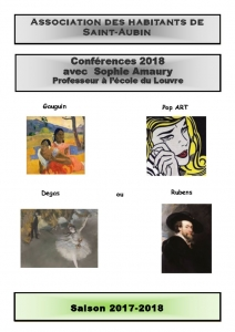 thumbnail of Conférences 2017-2018