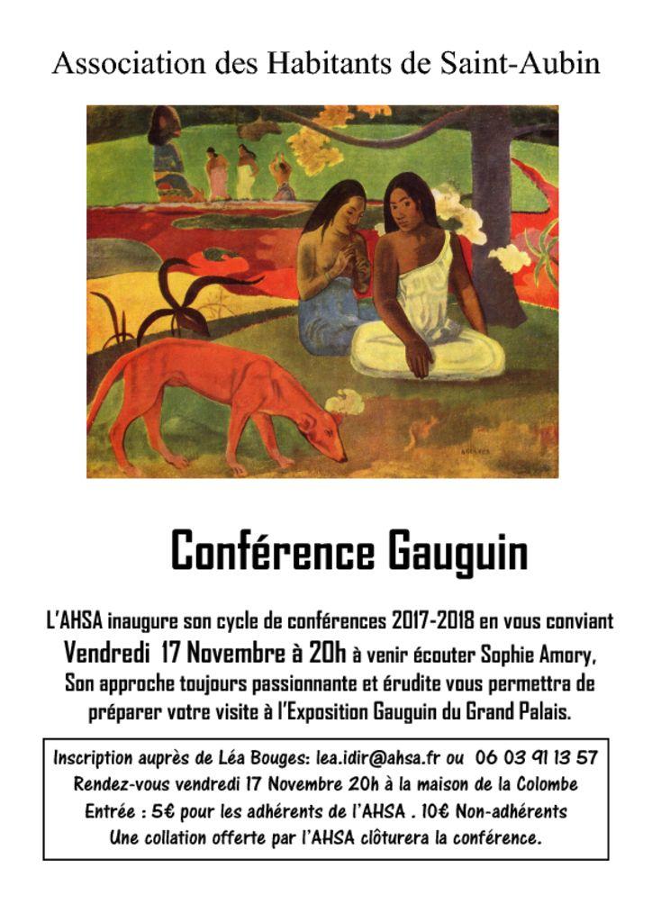 thumbnail of Prospectus Gauguin