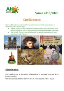 thumbnail of AHSA conférences 2019-2020