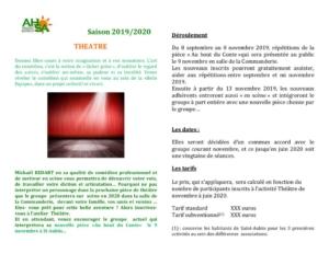 thumbnail of AHSA théatre 2019