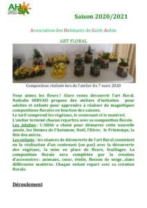 thumbnail of AHSA art floral