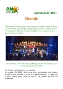 thumbnail of AHSA chorale