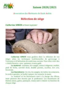 thumbnail of AHSA refection de sieges