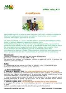 thumbnail of AHSA aromatherapie 2021-2022