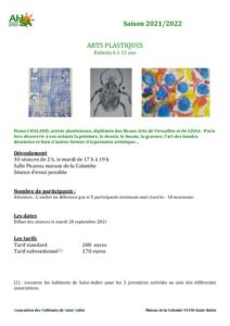 thumbnail of AHSA arts plastiques 2021-2022